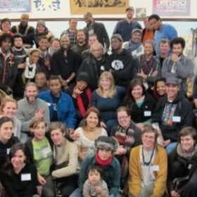 Large group of Detroit Future members