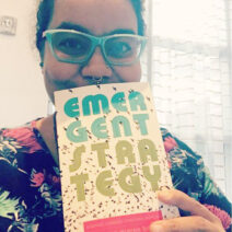 adrienne marie brown holding emergent strategy book