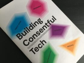 Building consentful tech zine cover