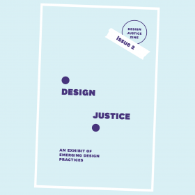 "Cover of the ""Design Justice Zine Issue 2"""